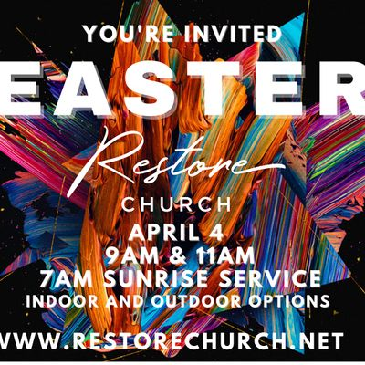 Easter - IN DOORIN PERSON Services
