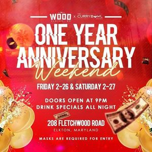 One Year Anniversary Weekend Party