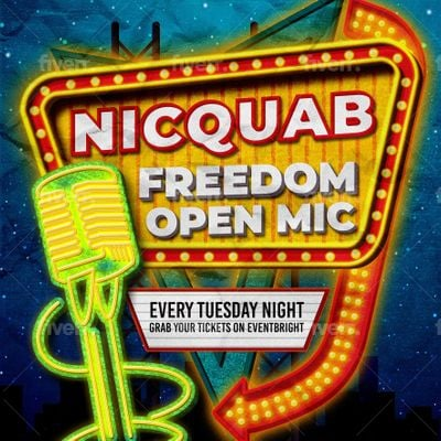 NicquaB Open Mic Tuesday Night