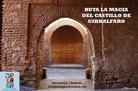Ruta la Magia del Castillo de Gibralfaro