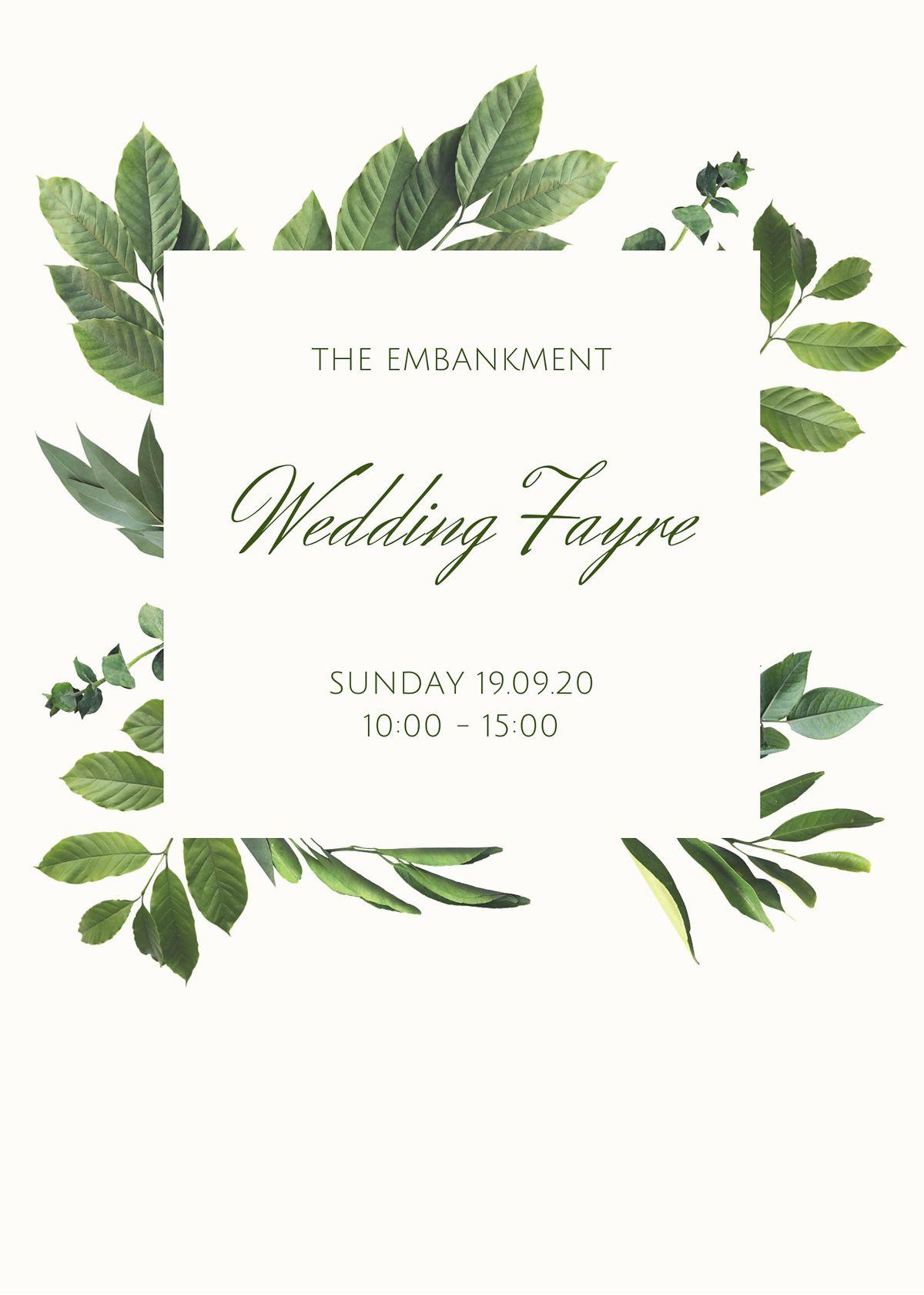 The Embankment September Wedding Fayre