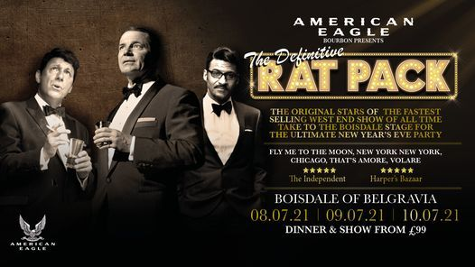 The Definitive Rat Pack, 8 July | Event in Croydon | AllEvents.in