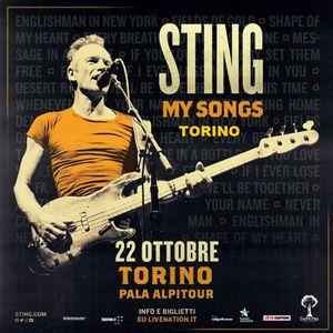 Sting live a Torino  22 ottobre