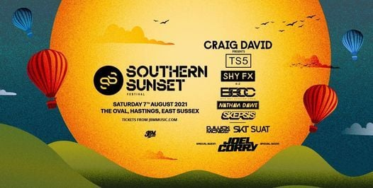 Southern Sunset Festival 2021, 7 August   Event in Hastings   AllEvents.in