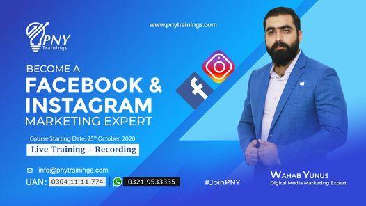 Become a Facebook & Instagram Marketing Expert