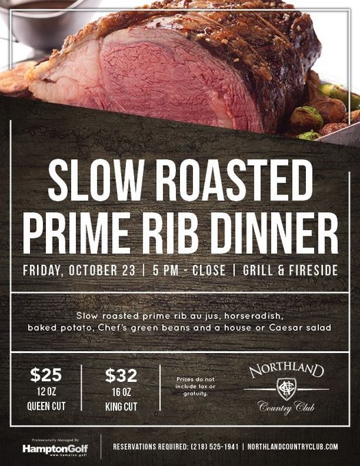 Prime Rib Dinner | Event in Duluth | AllEvents.in