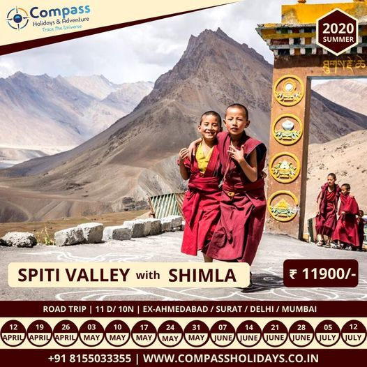 Spiti Valley with Shimla