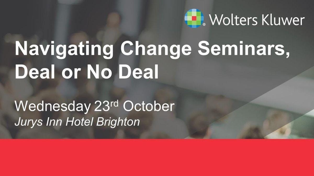 Wolters Kluwer Seminar - Brighton