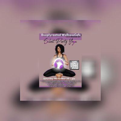 Yoga silent Disco experience