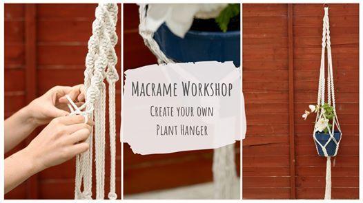 Macram Plant Hanger Workshop