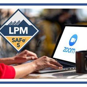 SAFe 5.0 Lean Portfolio Management - Remote - 3 x Half-Days - 1130 - 5PM
