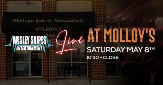 DJ Wesley Snipes feat. DJ EA live at Molloy's, 8 May   Event in Gambrills   AllEvents.in