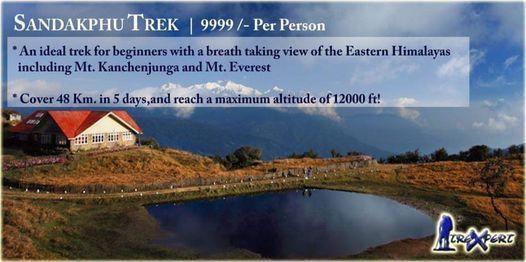 Sandakphu Darjeeling Himalayan Trekking Expedition 2020 | Event in Darjeeling | AllEvents.in