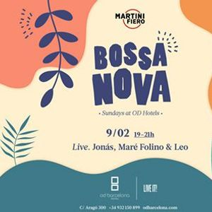 LIVE BOSSA NOVA MUSIC CONCERT  OD Barcelona Hotel. Entrada libre
