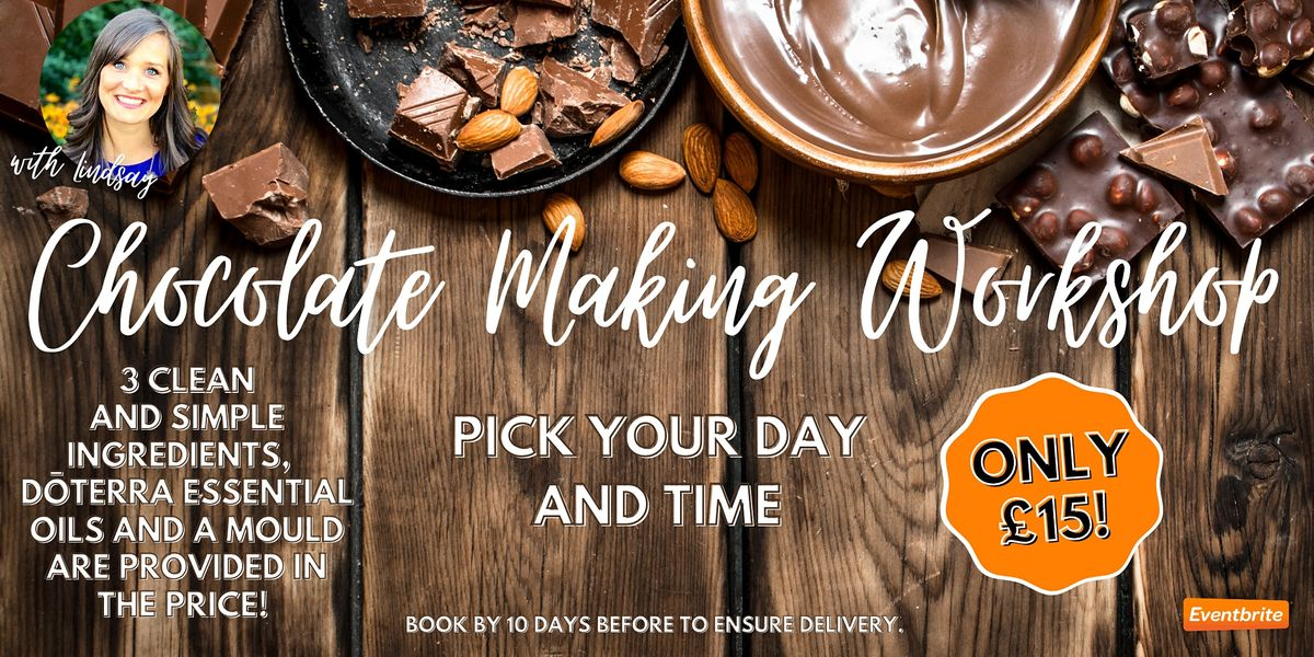 Healthy Chocolate Making Workshop with doTERRA Essential Oils | Online Event | AllEvents.in