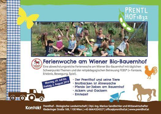 Ferienwoche am Wiener Bio-Bauernhof