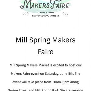 Mill Springs Makers Fair