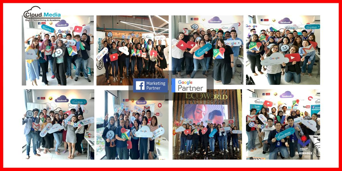 (HRDF Claimable) Google Partner - Google & YouTube Advertising Workshop, 20 May | Event in Kuala Lumpur