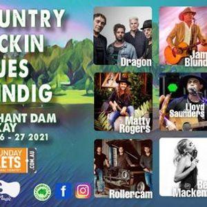 Country Rockin Blues Shindig at Kinchant Dam Mackay