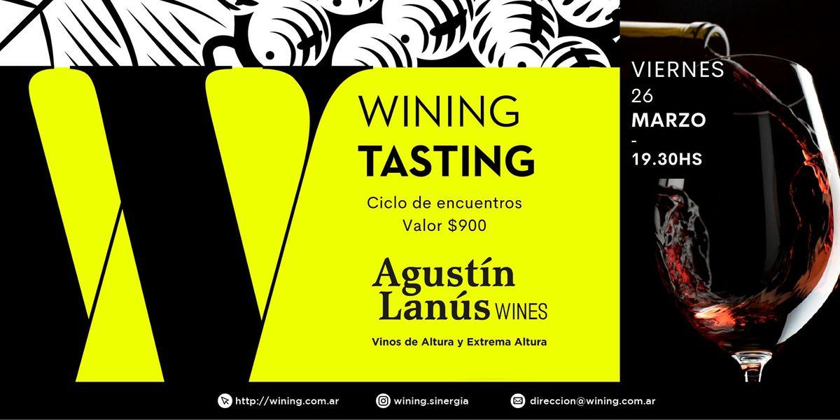 Wining Tasting #AgustinLanus, 26 March   Event in Villa Crespo   AllEvents.in