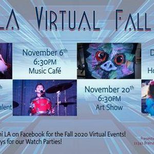 Delphi LA Virtual Fall Events