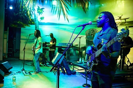 Paul Anthony & The Reggae Souljahs at Margaritavilles