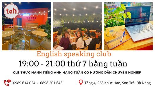 Free English Speaking Club | Event in Danang | AllEvents.in