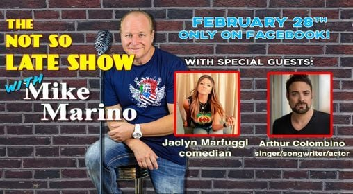The Not So Late Show with Mike Marino | Online Event | AllEvents.in