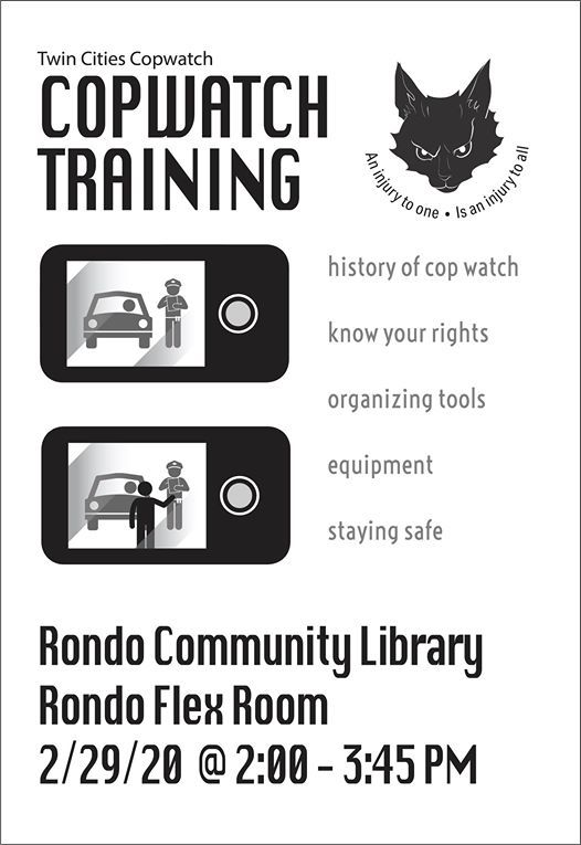Know Your Rights  How to Copwatch