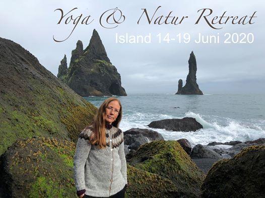 Yoga & Natur retreat Island 14-19 juni20