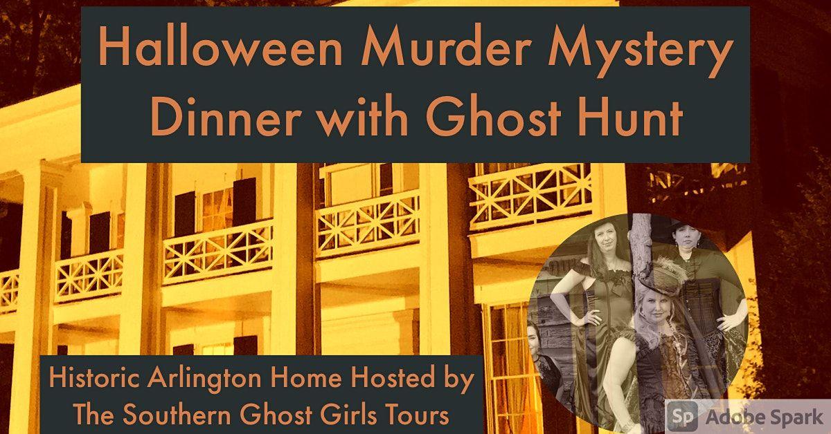 Halloween M**der Mystery Dinner , Ghost Hunt Birmingham's Arlington House, 29 October | Event in Birmingham
