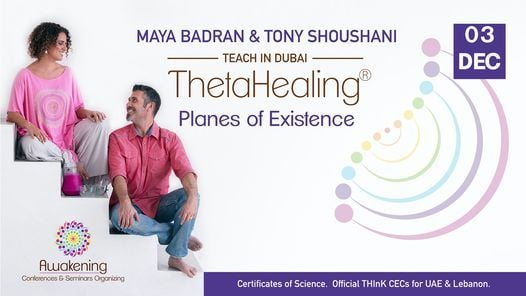 ThetaHealing Planes of Existence - Dubai 2021 - Maya, 3 December | Event in Dubai | AllEvents.in