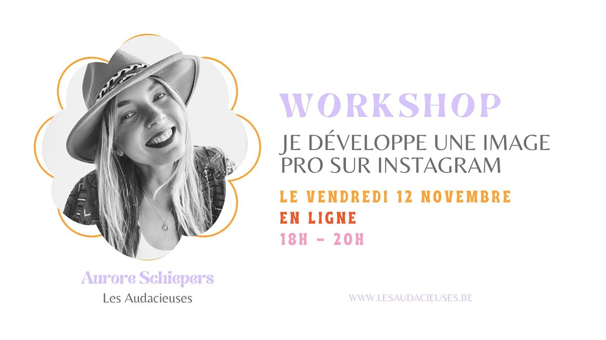 Je développe une image pro sur Instagram, 12 November   Online Event   AllEvents.in