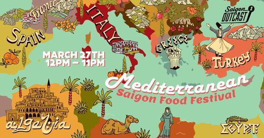 Saigon Mediterranean Food Festival, 27 March | Event in Ho Chi Minh City | AllEvents.in