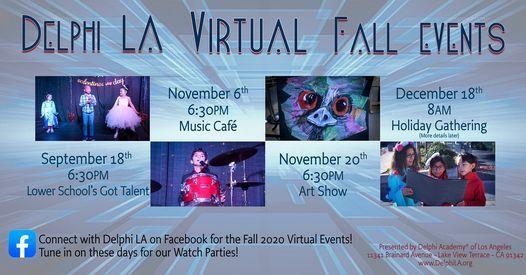 Delphi LA Virtual Fall Events   Online Event   AllEvents.in