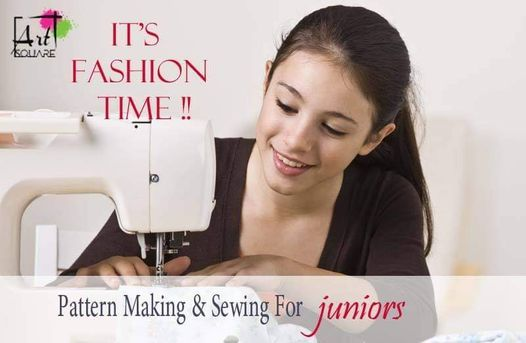 Pattern Making For Young Adults course (30 Hrs.)