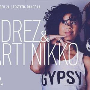 Ecstatic Dance LA  DJ Drez  Marti Nikko