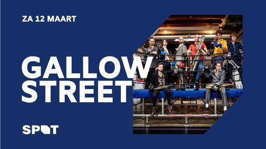 Gallowstreet / De Oosterpoort, 27 March | Event in Groningen | AllEvents.in