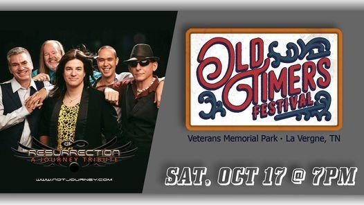 Old Timers Festival, Veterans Memorial Park, La Vergne, 17 October