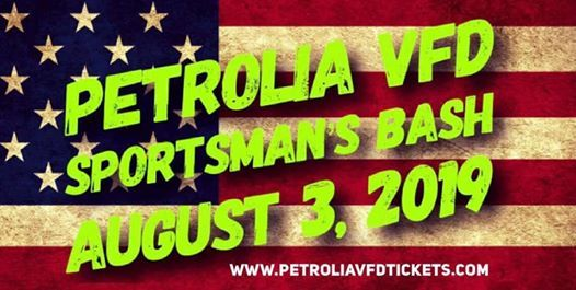 3rd Annual Petrolia VFD Sportsman's Bash at Paradise Park PA