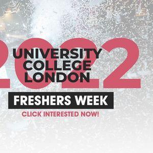 University College London (UCL) Freshers Week 2021