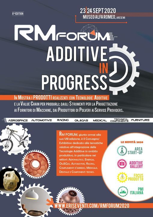 RM FORUM 2020 Additive in Progress
