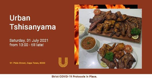 Urban Tshisanyama, 31 July | Event in Cape Town | AllEvents.in