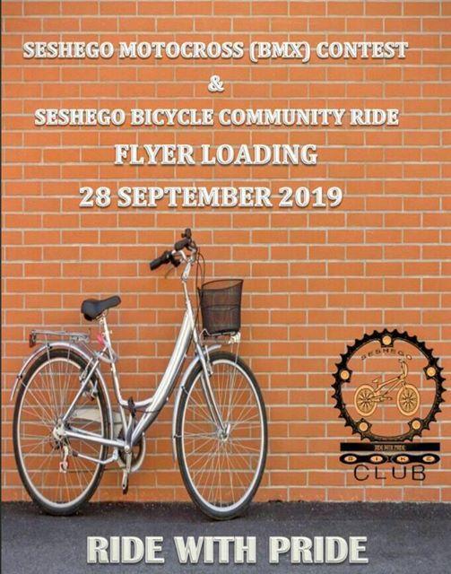 Seshego Motocross(BMX)  Contest and Seshego Bicycle  Community Ride.