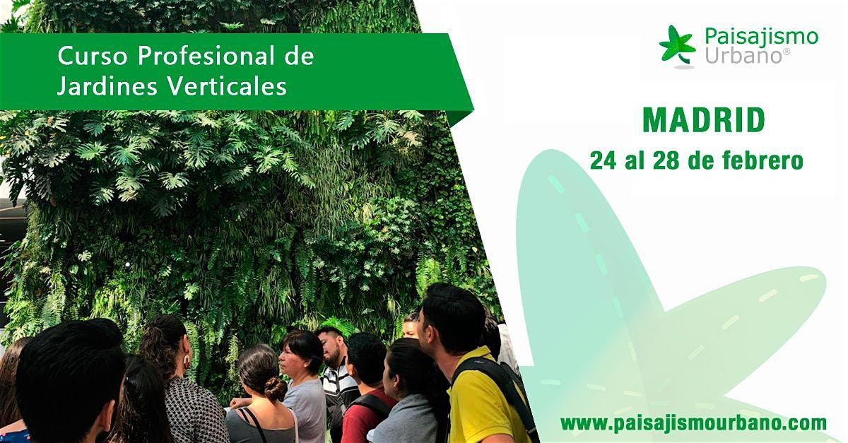 Curso de Jardines Verticales en Madrid