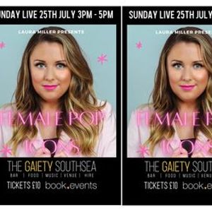 SUNDAY LIVE featuring Laura Miller at The Gaiety Bar South Parade Pier