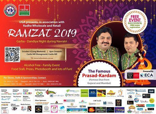 Ramzat 2019 Garba Night