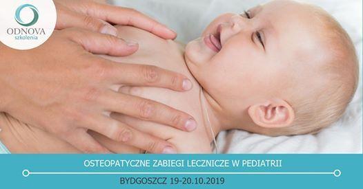 Osteopatyczne zabiegi lecznicze w pediatrii