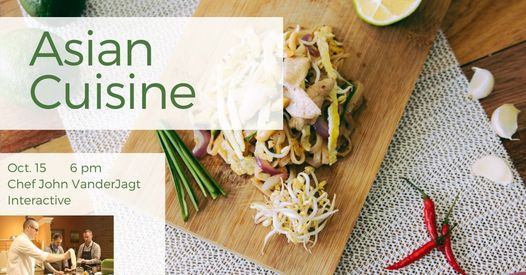 Asian Cuisine: Interactive Cooking Class   Event in Holland   AllEvents.in