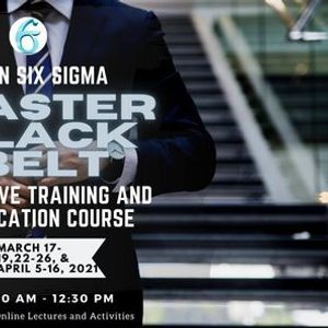 Lean Six Sigma Master Black Belt Online Live Training and Certification Course